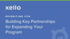 Sponsored Webinar: Reigniting CCR: Build Key Partnerships for Expanding Your CCR Program