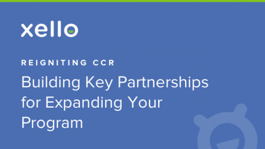 Image: Sponsored Webinar: Reigniting CCR: Build Key Partnerships for Expanding Your CCR Program