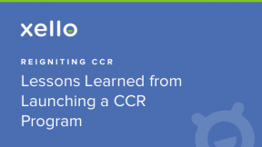 Sponsored Webinar: Reigniting CCR- Lessons Learned from Launching a CCR Program