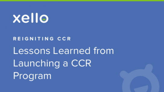 Image: Sponsored Webinar: Reigniting CCR- Lessons Learned from Launching a CCR Program